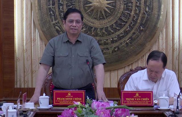 Ông Phạm Minh Chính: Đảng bộ tỉnh Thanh Hóa cần tiếp tục duy trì sự đoàn kết, thống nhất - Ảnh 1.