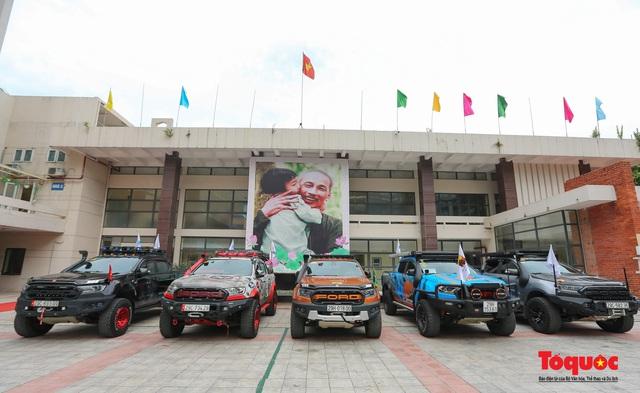 Ra mắt CLB xe bán tải trực thuộc Hội Liên hiệp thanh niên Việt Nam TP. Hà Nội - Ảnh 3.