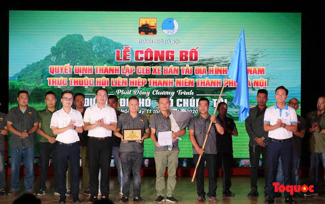Ra mắt CLB xe bán tải trực thuộc Hội Liên hiệp thanh niên Việt Nam TP. Hà Nội - Ảnh 1.