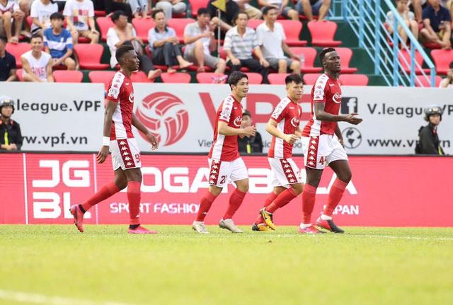 Vòng 9 V-League 2020: Sài Gòn kéo dài mạch bất bại - Ảnh 1.