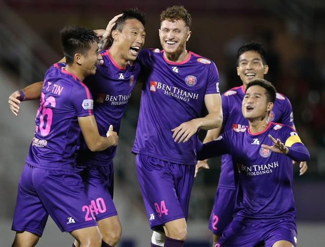 Vòng 9 V-League 2020: Sài Gòn kéo dài mạch bất bại - Ảnh 2.
