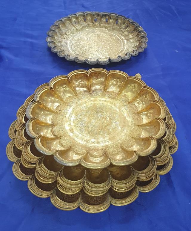 Lập hồ sơ đề nghị công nhận bảo vật quốc gia bộ sưu tập đĩa vàng thời Lý - Ảnh 1.