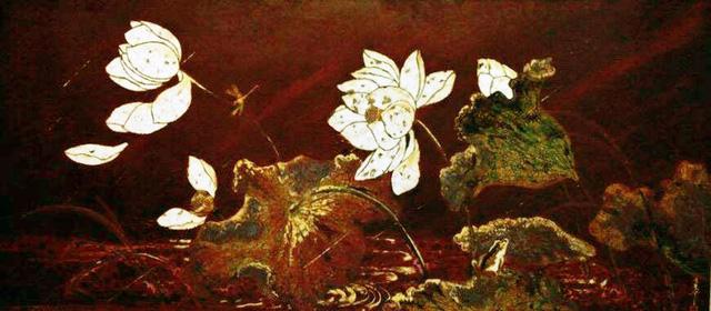 Vẻ đẹp thanh bình của thiên nhiên trong tranh sơn mài của Phạm Hậu - Ảnh 4.