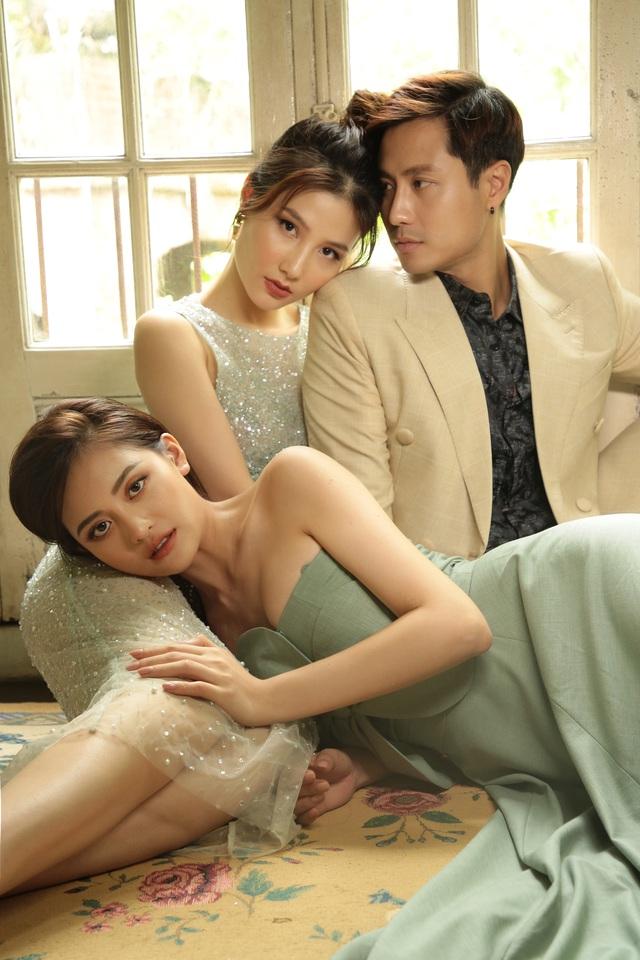 Thanh Sơn, Diễm My 9X và Thùy Anh rủ nhau chụp ảnh kể chuyện tình tay ba - Ảnh 1.