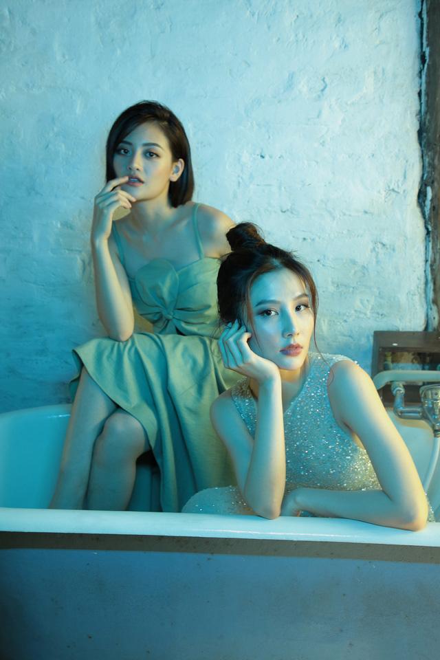 Thanh Sơn, Diễm My 9X và Thùy Anh rủ nhau chụp ảnh kể chuyện tình tay ba - Ảnh 7.