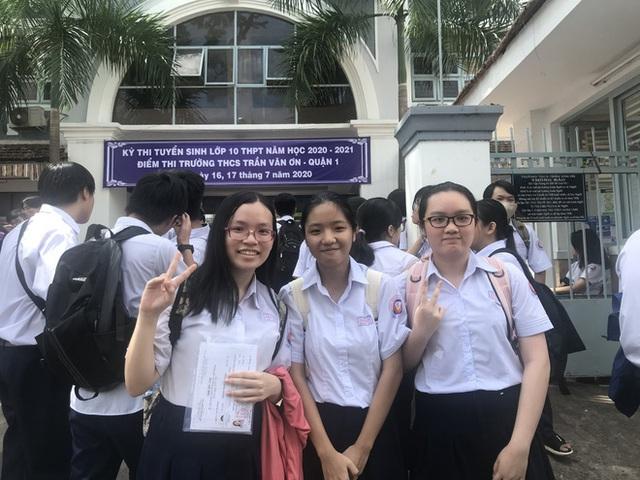 TP. Hồ Chí Minh chính thức công bố điểm thi vào lớp 10 THPT - Ảnh 1.