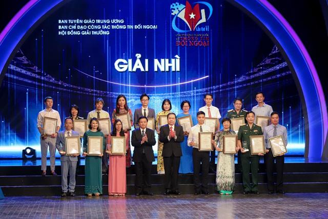 Lễ trao Giải thưởng toàn quốc về thông tin đối ngoại lần thứ VI: Vinh danh 175 tác phẩm báo chí xuất sắc nhất - Ảnh 8.