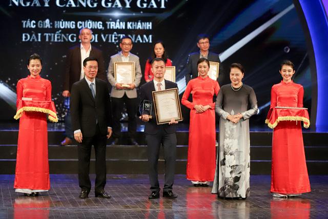 Lễ trao Giải thưởng toàn quốc về thông tin đối ngoại lần thứ VI: Vinh danh 175 tác phẩm báo chí xuất sắc nhất - Ảnh 5.