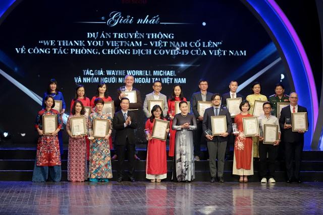 Lễ trao Giải thưởng toàn quốc về thông tin đối ngoại lần thứ VI: Vinh danh 175 tác phẩm báo chí xuất sắc nhất - Ảnh 6.