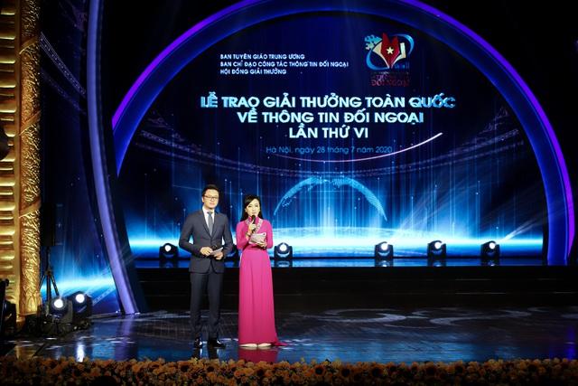Lễ trao Giải thưởng toàn quốc về thông tin đối ngoại lần thứ VI: Vinh danh 175 tác phẩm báo chí xuất sắc nhất - Ảnh 1.