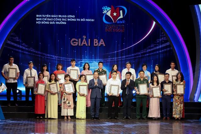 Lễ trao Giải thưởng toàn quốc về thông tin đối ngoại lần thứ VI: Vinh danh 175 tác phẩm báo chí xuất sắc nhất - Ảnh 9.