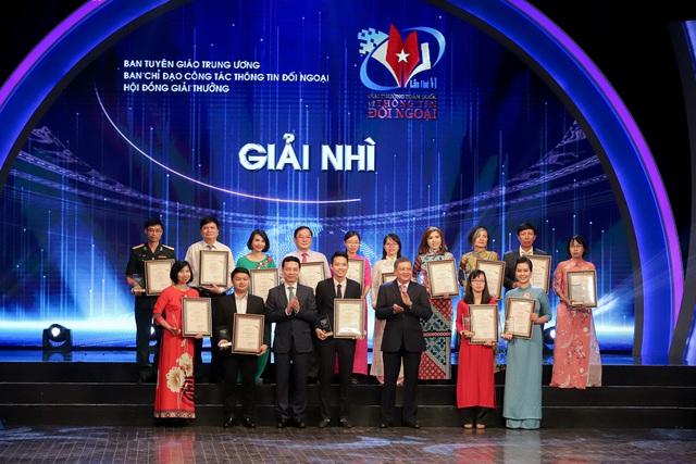Lễ trao Giải thưởng toàn quốc về thông tin đối ngoại lần thứ VI: Vinh danh 175 tác phẩm báo chí xuất sắc nhất - Ảnh 7.
