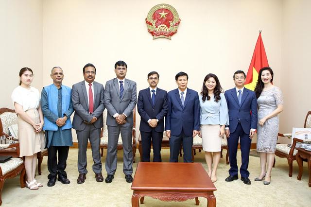 Bộ trưởng Nguyễn Ngọc Thiện tiếp Đại sứ Đặc mệnh toàn quyền Ấn Độ tại Việt Nam - Ảnh 3.