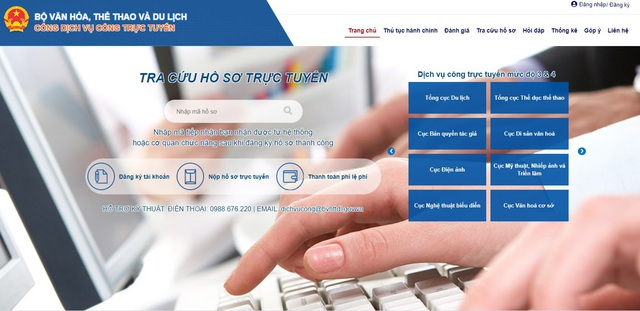 Kết nối PayGov, Bộ VHTT&DL vượt mốc 30% dịch vụ công online mức 4 - Ảnh 1.