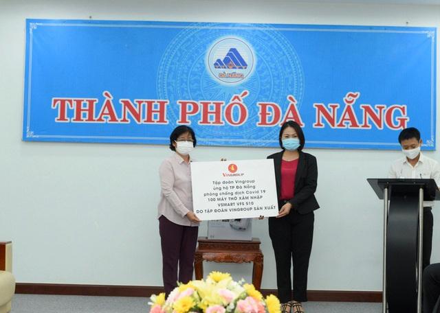 Hình ảnh Đà Nẵng tiếp nhận 100 máy thở xâm nhập VFS 510 trị giá gần 19 tỷ đồng - Ảnh 1.