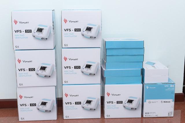 Hình ảnh Đà Nẵng tiếp nhận 100 máy thở xâm nhập VFS 510 trị giá gần 19 tỷ đồng - Ảnh 2.