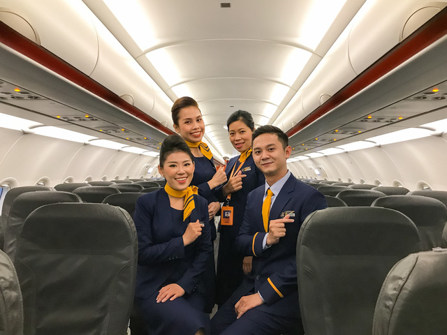 Đồng phục tiếp viên của hãng Pacific Airlines chính thức ra mắt - Ảnh 2.