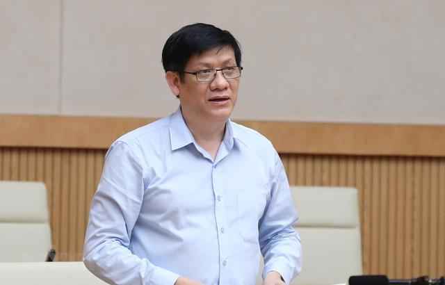 Ông Nguyễn Thanh Long vừa được Thủ tướng bổ nhiệm giữ chức quyền Bộ trưởng Y tế - Ảnh 1.