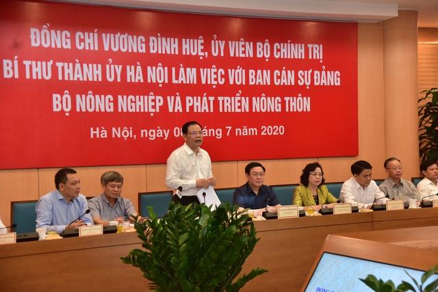 """Bộ trưởng Nguyễn Xuân Cường: Nông dân Hà Nội phải là """"nông dân 4.0"""" - Ảnh 1."""