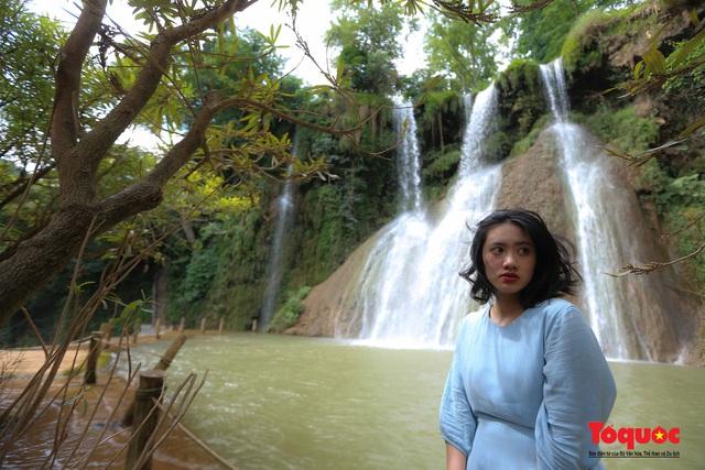 Chiêm ngưỡng vẻ đẹp của thác Dải Yếm giữa cao nguyên Mộc Châu - Ảnh 11.