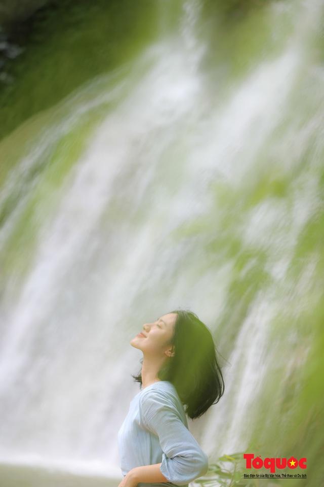 Chiêm ngưỡng vẻ đẹp của thác Dải Yếm giữa cao nguyên Mộc Châu - Ảnh 13.