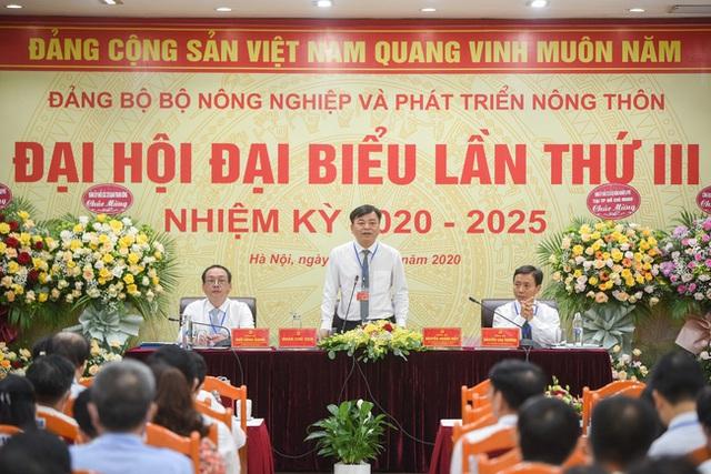 Thứ trưởng Nguyễn Hoàng Hiệp tái cử Bí thư Đảng ủy Bộ Nông nghiệp và Phát triển Nông thôn  - Ảnh 1.