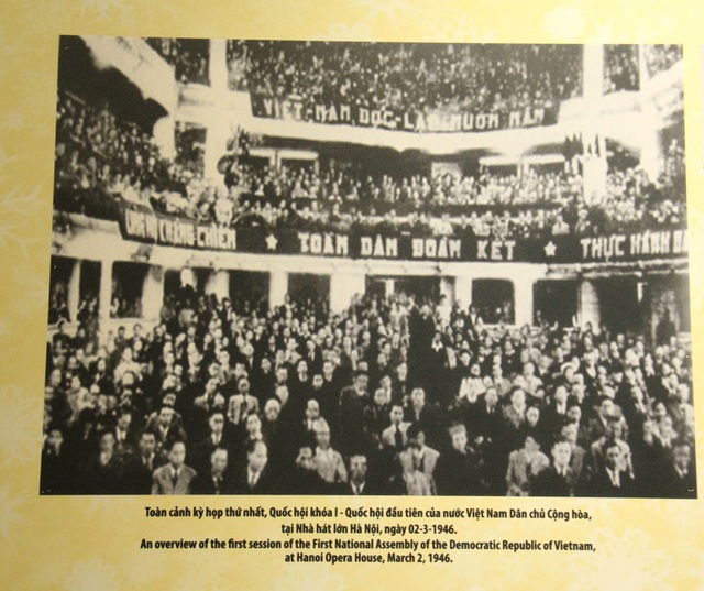 Khai mạc Trưng bày chuyên đề Chủ tịch Hồ Chí Minh- người sáng lập Nhà nước Việt Nam Dân Chủ Cộng Hòa - Ảnh 8.