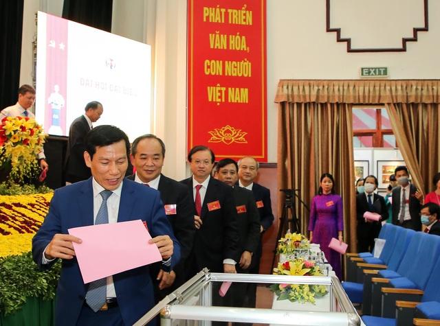 Thứ trưởng Tạ Quang Đông được bầu giữ chức Bí thư Đảng ủy Bộ VHTTDL nhiệm kỳ 2020 - 2025 - Ảnh 1.