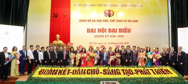 Thứ trưởng Tạ Quang Đông được bầu giữ chức Bí thư Đảng ủy Bộ VHTTDL nhiệm kỳ 2020 - 2025 - Ảnh 2.