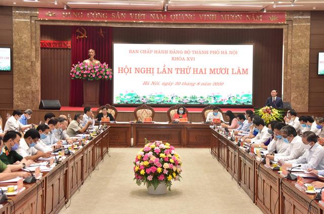 Bí thư Thành ủy Hà Nội: Nhanh chóng đưa Nghị quyết Đại hội Đảng các cấp vào cuộc sống, không được ngồi chờ - Ảnh 1.