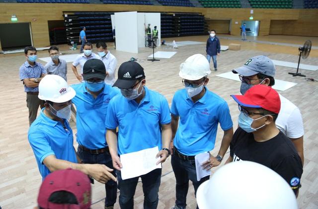 Chính thức bàn giao Bệnh viện dã chiến tại Cung thể thao Tiên Sơn  - Ảnh 5.