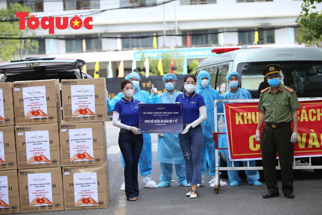 7 bệnh viện ở Đà Nẵng tiếp nhận 7.000 bộ đồ bảo hộ y tế - Ảnh 1.