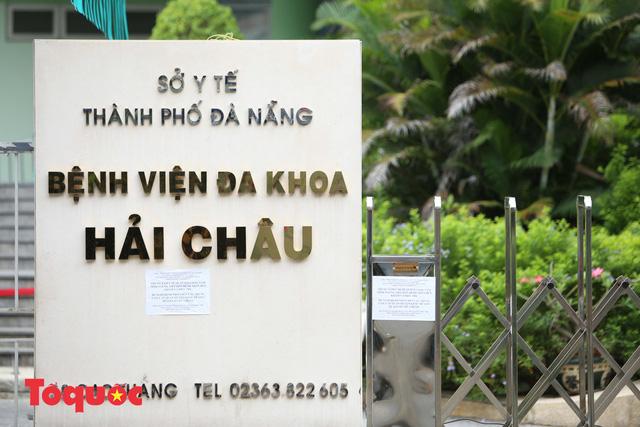 Đà Nẵng cách ly Trung tâm Y tế quận Hải Châu - Ảnh 1.