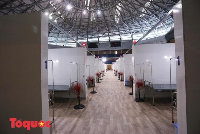 Cận cảnh bên trong bệnh viện dã chiến lớn nhất Đà Nẵng - Ảnh 6.