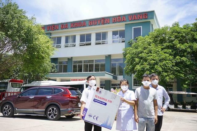 5 bệnh viện ở Đà Nẵng tiếp nhận 10.000 khẩu trang N95 chống dịch Covid-19 - Ảnh 1.