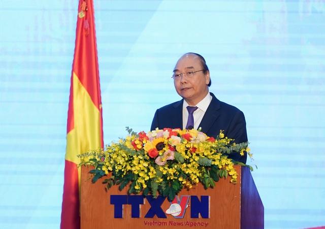 Thủ tướng dự Lễ kỷ niệm 75 năm Ngày truyền thống Thông tấn xã Việt Nam - Ảnh 1.