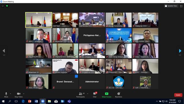 Hội nghị lần thứ 55 Ủy ban Văn hóa-Thông tin ASEAN  - Ảnh 2.
