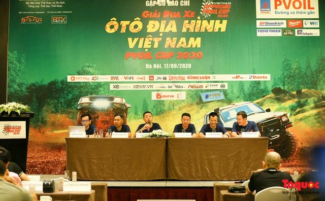 Giải Đua xe Ô tô Địa hình Việt Nam 2020 chính thức khởi động - Ảnh 1.