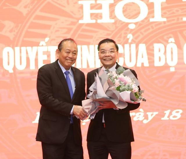 Bộ trưởng Bộ Khoa học & Công nghệ được phân công làm Phó Bí thư Thành uỷ Hà Nội - Ảnh 2.