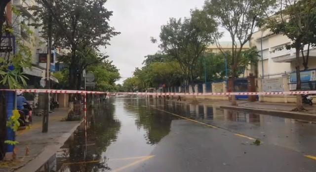 Nhiều tuyến đường ở Đà Nẵng ngập sâu, cây xanh ngã đổ - Ảnh 9.