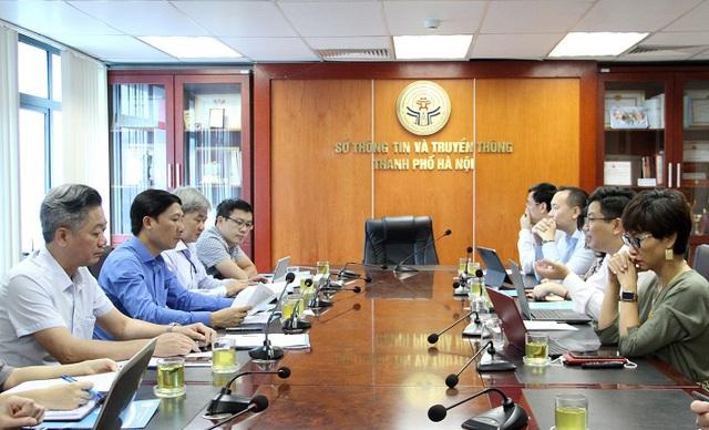 Trao đổi, thống nhất các nội dung triển khai địa chỉ bưu chính Vpostcode trên địa bàn thành phố Hà Nội - Ảnh 1.