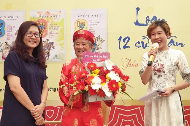 Nhà nghiên cứu 99 tuổi Nguyễn Đình Tư chia sẻ bí quyết tự học và tình yêu sử Việt  - Ảnh 3.