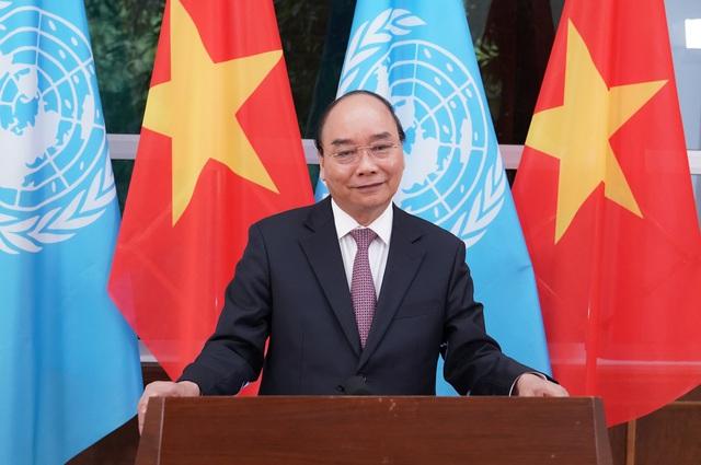 Toàn văn thông điệp của Thủ tướng Nguyễn Xuân Phúc tại Phiên họp Cấp cao Liên hợp quốc - Ảnh 1.
