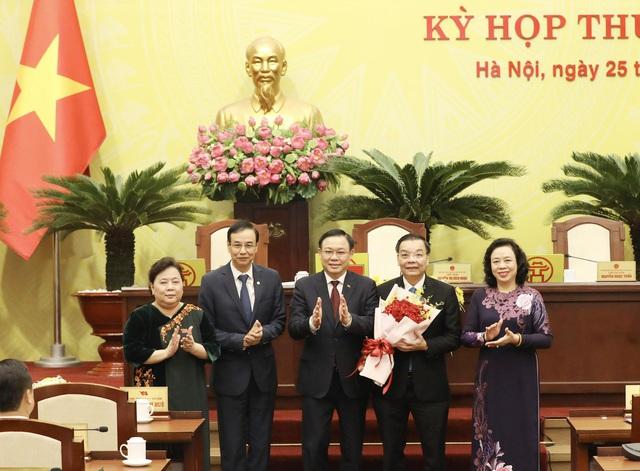 Tân Chủ tịch UBND thành phố Hà Nội hứa điều gì khi nhận nhiệm vụ? - Ảnh 1.