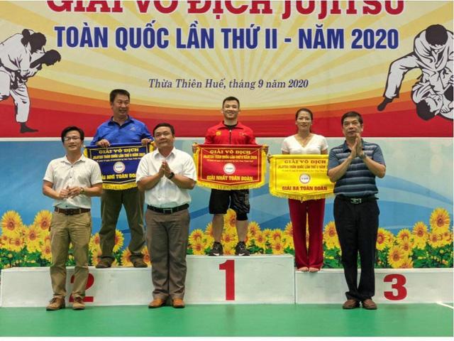 Hà Nội bảo vệ thành công ngôi vương giải vô địch jujitsu toàn quốc - Ảnh 1.