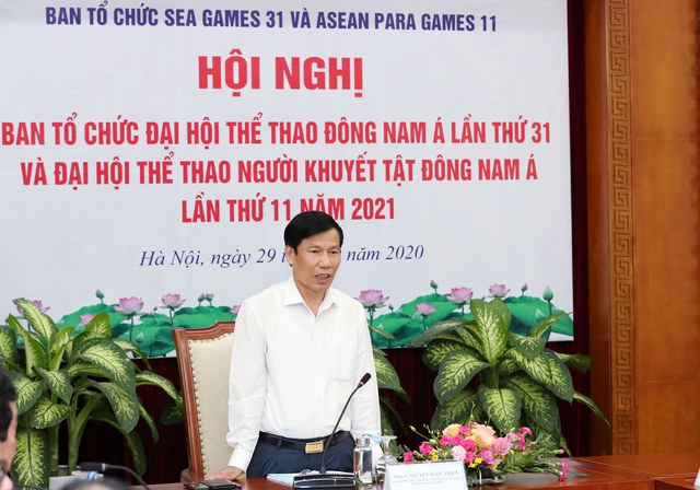 Tiếp tục hoàn thiện quy chế hoạt động của Ban Tổ chức SEA Games 31 và ASEAN Para Games 11  - Ảnh 2.
