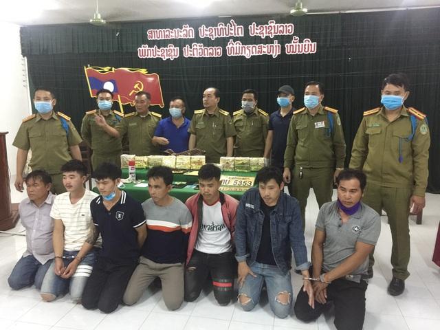 Triệt phá đường dây vận chuyển, mua bán ma túy số lượng lớn tại biên giới Việt Nam - Lào - Ảnh 1.
