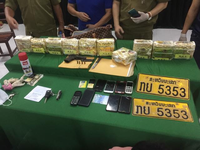 Triệt phá đường dây vận chuyển, mua bán ma túy số lượng lớn tại biên giới Việt Nam - Lào - Ảnh 2.