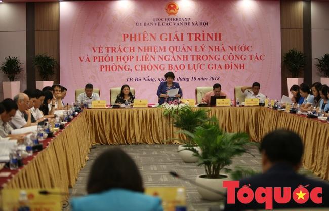 Bộ trưởng Nguyễn Ngọc Thiện dự Phiên họp toàn thể lần thứ 11 Uỷ ban Về các vấn đề Xã hội của Quốc hội - Ảnh 1.