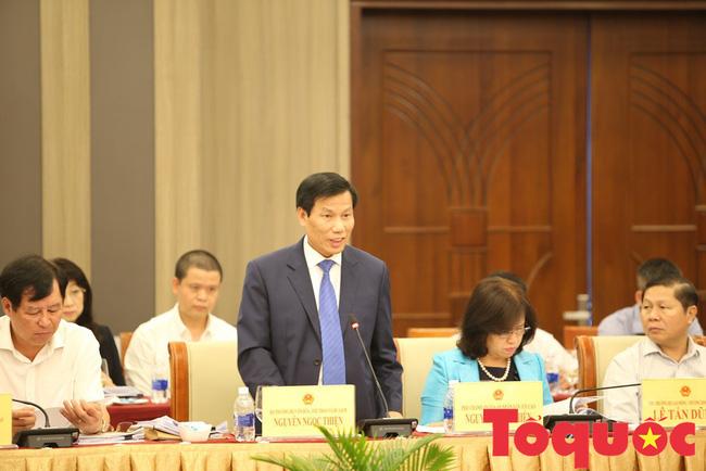 Bộ trưởng Nguyễn Ngọc Thiện dự Phiên họp toàn thể lần thứ 11 Uỷ ban Về các vấn đề Xã hội của Quốc hội - Ảnh 3.